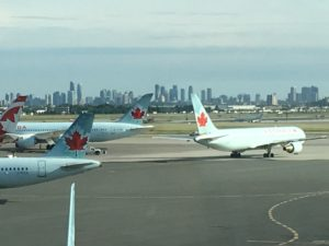 Air Canada, my half-price airline friend...