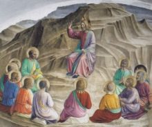 Sermon on the Mount, by Fra Angelico